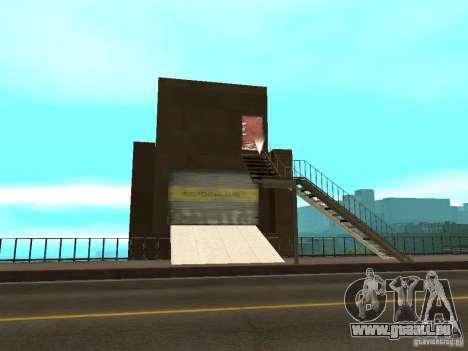 Rot-Aufzug Lift-Brücke-Brücke für GTA San Andreas