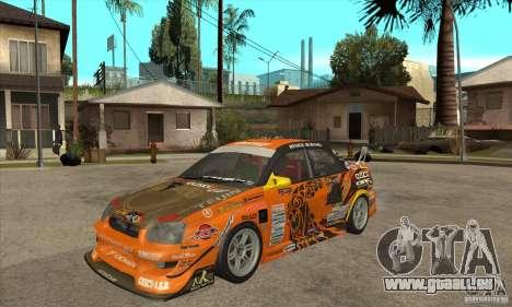 Subaru Impreza D1 WRX Yukes Team Orange pour GTA San Andreas