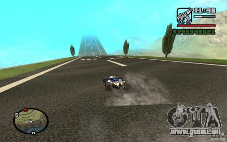 High-speed line pour GTA San Andreas