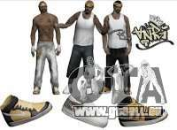 Skin Pack Vagos pour GTA San Andreas