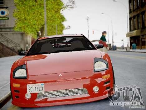 Mitsubishi Eclipse GT-S v1.0 pour GTA 4 Vue arrière