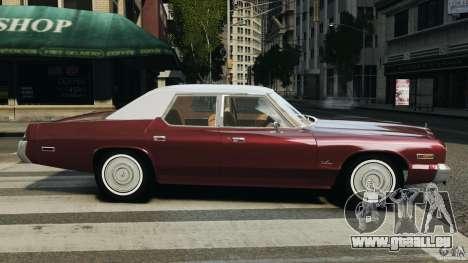 Dodge Monaco 1974 v1.0 pour GTA 4 est une gauche