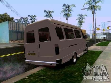 Gazelle 32213 1994 für GTA San Andreas zurück linke Ansicht
