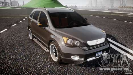 Honda C-RV SeX_BomB 2007 pour GTA 4 est une vue de l'intérieur
