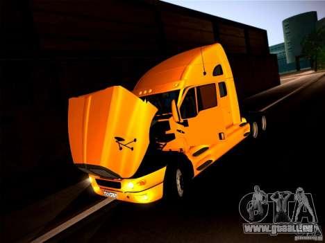 KenWorth T2000 v 2.8 für GTA San Andreas Rückansicht