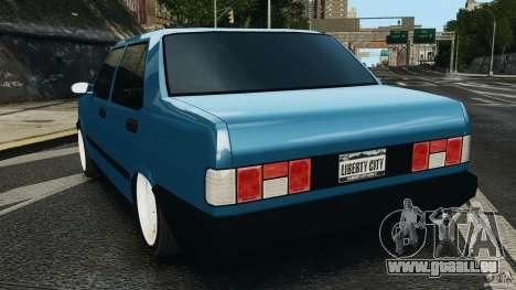 Tofas Dogan SLX EmreAKIN Edition pour GTA 4 Vue arrière de la gauche