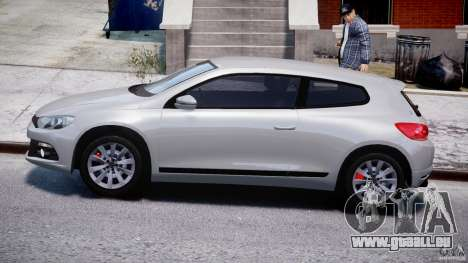Volkswagen Scirocco III 2008 pour GTA 4 est une gauche