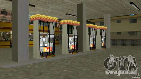 Shell Station für GTA Vice City dritte Screenshot