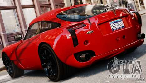 TVR Sagaris MKII v1.0 für GTA 4 linke Ansicht