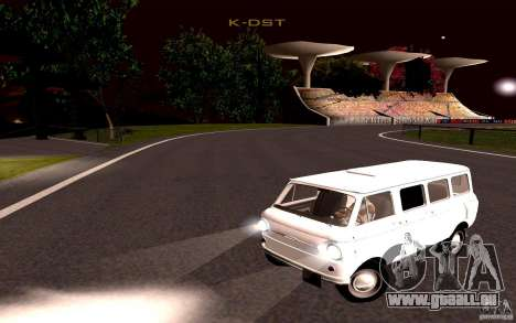 ZAZ 970 pour GTA San Andreas sur la vue arrière gauche