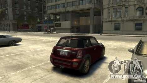 Mini John Cooper Works 2009 pour GTA 4 est un droit
