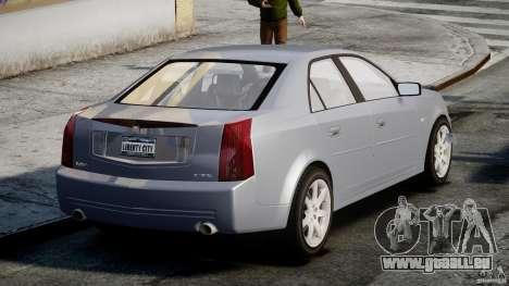 Cadillac CTS-V für GTA 4 hinten links Ansicht