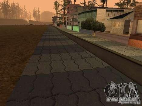 HD Santa Maria Beach pour GTA San Andreas deuxième écran
