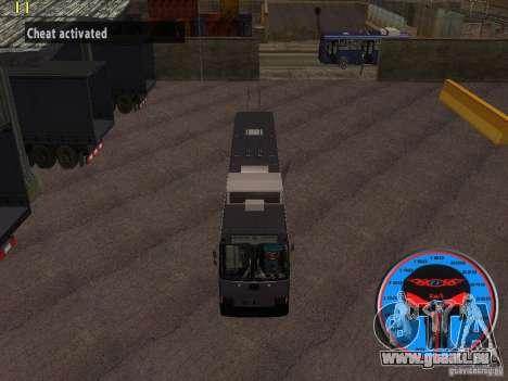 Trolleybus LAZ-52522 für GTA San Andreas Rückansicht