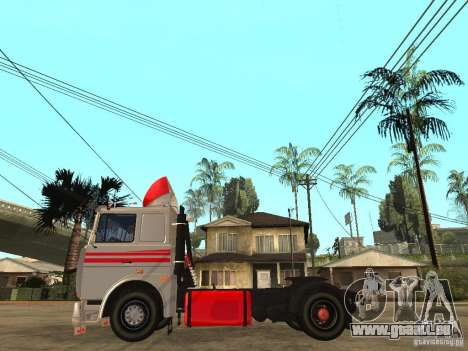MAZ 543205 Tuning für GTA San Andreas linke Ansicht