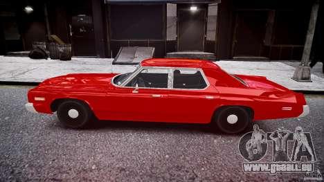 Dodge Monaco 1974 stok rims pour GTA 4 est une gauche