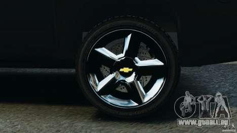 Chevrolet Avalanche 2007 [ELS] pour GTA 4 vue de dessus