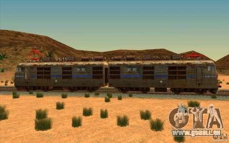 VL80k-699 pour GTA San Andreas laissé vue