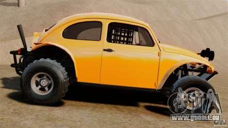 Volkswagen Fusca Buggy 1963 pour GTA 4 est une gauche