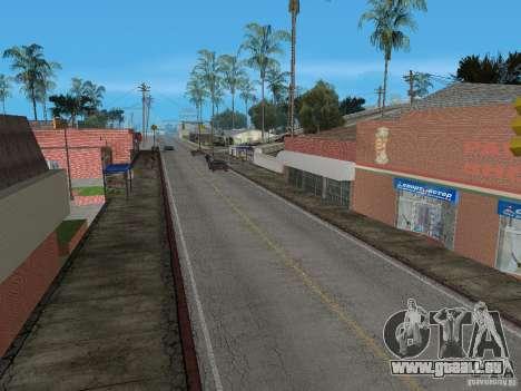 Nouveau Groove Street pour GTA San Andreas troisième écran