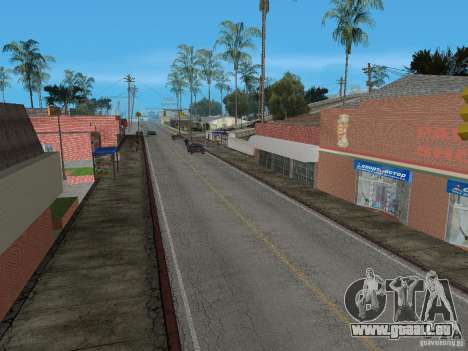 Neue Groove Street für GTA San Andreas dritten Screenshot
