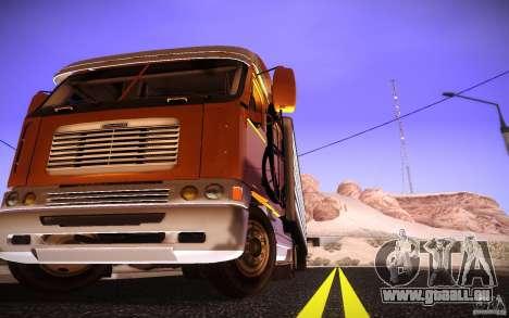 Freightliner Argosy für GTA San Andreas rechten Ansicht