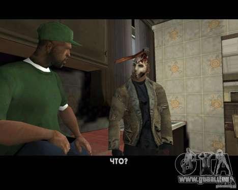 Jason Voorhees pour GTA San Andreas neuvième écran