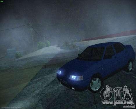 VAZ-21103 pour GTA San Andreas laissé vue