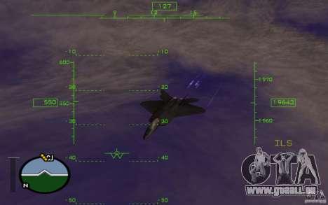 Vol dans la mésosphère pour GTA San Andreas troisième écran