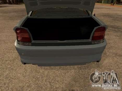 Schafter de Gta 4 pour GTA San Andreas sur la vue arrière gauche