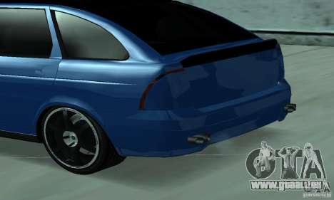 Lada Priora 2012 pour GTA San Andreas sur la vue arrière gauche