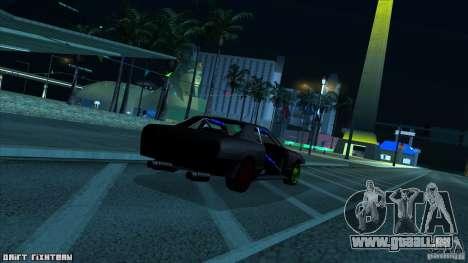 Elegy hard pour GTA San Andreas sur la vue arrière gauche