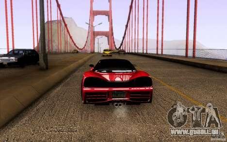 Honda NSX VielSide Cincity Edition pour GTA San Andreas vue de droite