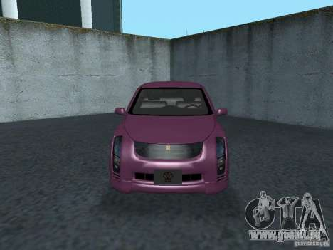 Toyota WiLL Cypha pour GTA San Andreas laissé vue