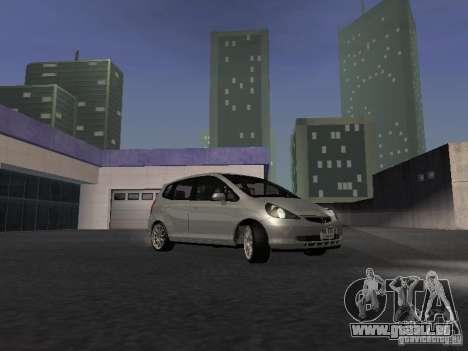 Honda Fit pour GTA San Andreas vue arrière
