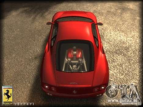 Ferrari 360 modena für GTA 4 rechte Ansicht