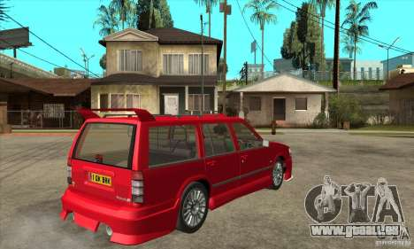 Volvo 945 Wentworth R with bodykit (1.2) pour GTA San Andreas vue de droite
