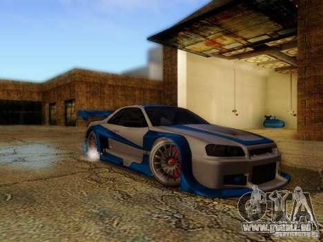 Nissan Skyline GTR34 DTM pour GTA San Andreas
