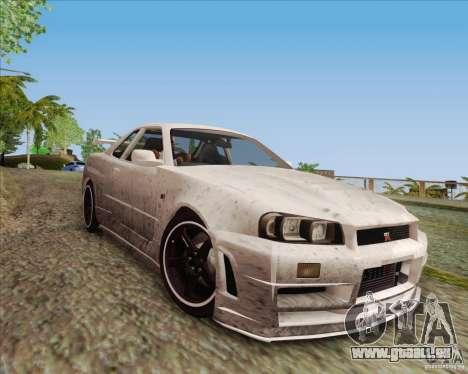 Improved Vehicle Lights Mod v2.0 pour GTA San Andreas troisième écran