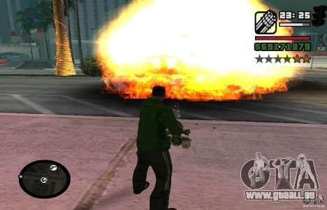 New Effects [HQ] pour GTA San Andreas troisième écran