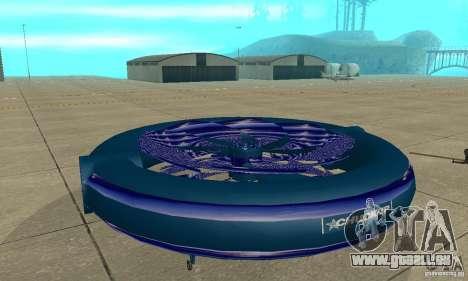 Chuckup für GTA San Andreas zurück linke Ansicht