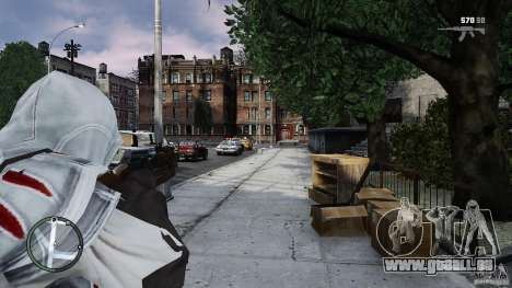 Assassins Creed II Ezio für GTA 4 weiter Screenshot