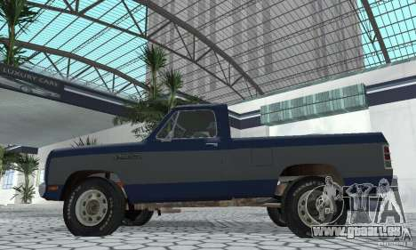 Dodge Prospector 1984 für GTA San Andreas rechten Ansicht