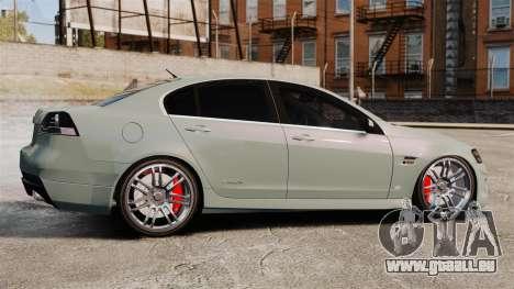 Chevrolet Lumina 2009 Mr. Bolleck Edition pour GTA 4 est une gauche