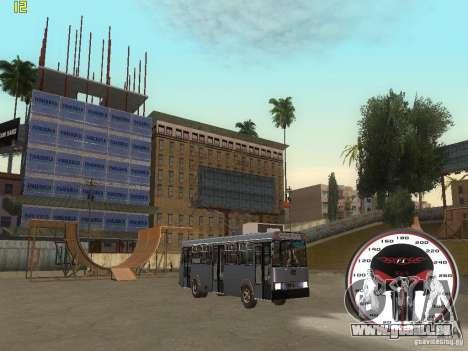 Trolleybus LAZ-52522 pour GTA San Andreas vue de droite