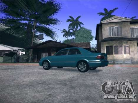 Mazda 626 GF 1999 für GTA San Andreas linke Ansicht