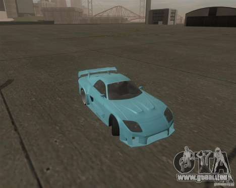 Mazda RX-7 Veilside Fortune pour GTA San Andreas vue arrière