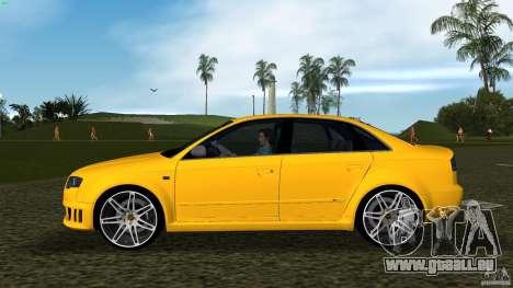 Audi RS4 pour une vue GTA Vice City de la gauche