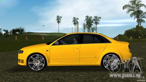 Audi RS4 für GTA Vice City linke Ansicht