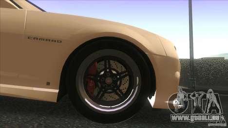 Chevrolet Camaro SS Dr Pepper Edition für GTA San Andreas Seitenansicht